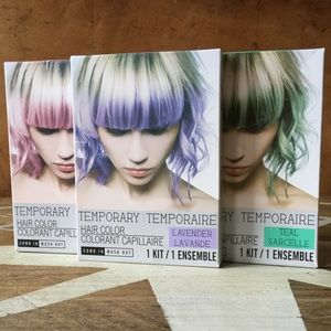 Other - TEMPORARY HAIR COLOR - SET OF 3